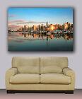 """Vancouver skyline, from ocean over marine,  Huge canvas print, 30"""" x 40"""""""