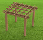 Garden Pergola Woodworking Plans - Easy to Build