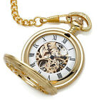 "Kansas City Railroad 26"" Chain & Fob Included - Pocket Watches Silver or Gold"