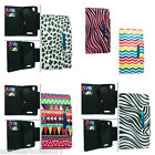 For ZTE MAX N9520 Boost Mobile Wallet Design Case Snap On Protector Cover