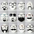 13 Styles Novelty Mustache Face Glasses Sunglasses Spectacles Display Stand Rack