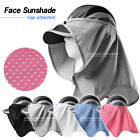 Sun Shade Block UV Protect Sunlight Cover Face Attach Hat Outdoor Clothes