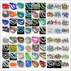 Free Shipping 50Pcs 8x6mm Rondelle Faceted Glass Loose Beads Spacer Finding 2New