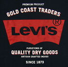 Levis T-Shirt New Graphic Levi's Short Sleeve 100% Cotton Blue FREE SHIPPING