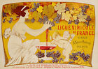 Vintage French print poster, large 4 sizes available, France 115