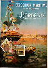 Bordeaux Vintage French ad print poster, large 4 sizes available - France 165