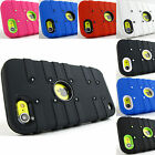 for Apple iPod Touch 5+Pry Tool Rugged TUFF eNUFF Hybrid Soft/Hard Case Cover