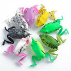 Soft Bass Frog Fishing Hook Lure Bait Crank Tackle Bass 50mm 12g 8Colors