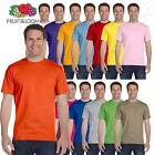 Fruit of the Loom Men's 6 oz Basic Short Sleeves Lofteez HD T-Shirt MHD6R