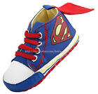 Baby Boy Character Super Cape Crib Shoes Soft Sole Sneakers Newborn to 18 Months