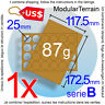 1x MOVEMENT TRAY MDF 6x4 4x6 (B) 25mm ROUND BASE WAR HAMMER WARGAME GAME USD
