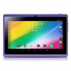 "iRULU Multi-Color 7"" 8GB GMS Android 4.4 Tablet PC Quad Core 2.0MP Camera WIFI"
