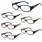 Brand New DG Eyewear Fashion Reading Glasses Mens Womens R2036DG - Multi