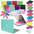 BUNDLE Rubberized HARD Case, KEYBOARD cover & NEOPRENE Sleeve for Apple Macbook