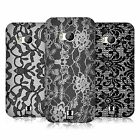 HEAD CASE DESIGNS BLACK LACE CASE COVER FOR HTC ONE M8