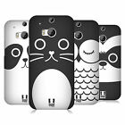 HEAD CASE DESIGNS CARTOON ANIMAL FACES SERIES 1 CASE COVER FOR HTC ONE M8