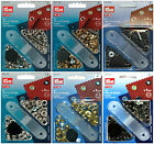 PRYM EYELETS WITH WASHERS & FIXING TOOL, CHOOSE COLOUR AND SIZE, FREE P&P