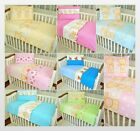 Quilt & Pillow 2 Piece Set / Baby NurseryCot Bedding 120x90 or 135x100 cm
