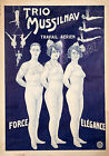 Vintage French Circus ad print poster, large 4 sizes available