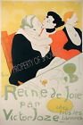 Vintage French ad print poster, large 4 sizes available