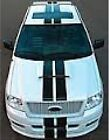 "8"" DUAL RACING STRIPES VINYL DECAL STICKER CAR TRUCK FORD F-150 DODGE FITS MOST"