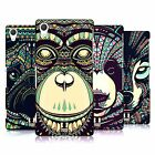 HEAD CASE DESIGNS AZTEC ANIMAL FACES 3 CASE COVER FOR SONY XPERIA Z2 D6503