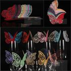 10 pcs Wedding Party Decoration Name Card Paper Butterfly 18 Colors W1014 FAS