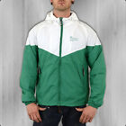 Alpha Industries Herren Windbreaker Jacke Helix II green white Windjacke Männer