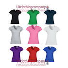 Gildan Softstyle Ladies V–Neck T–Shirt - Womens tops - Sizes S M L XL 2XL