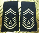 Genuine USA Air Force USAF Rank Slide Epaulettes Male/Female Various  1 Pair NEW