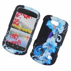 For ZTE Groove Z501 Cricket Cover Design Hard Snap On Rubberized Shell Case