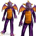 Boy's Deluxe Spyro The Dragon Skylanders Halloween Fancy Dress Costume Kids
