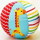 Fisher Price Baby Kid Soft Stuffed My First Little Ball Rattle Sports Crib Toy