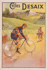 Vintage Desaix Bicycles Advertisement print poster, 4 large sizes available