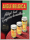 Vintage Aigle Beer rare ad print poster, large 4 sizes available