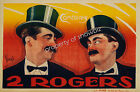 Vintage 2 Rogers Art ad print poster, large 4 sizes available