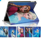Frozen Olaf Apple iPad 2 3 4 Retina Cover Flip Case Stand Strap PU Shell