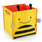 Home Folding Canvas Storage Bin Bag Kids Toys Books Clothing Shelf Organizer Box