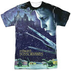 Edward Scissorhands Movie Home Poster Sublimation Poly Adult Shirt S-3XL