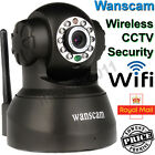 3G Wanscam Wireless WIFI Internet IP Camera LED Night Vision Home Security Black