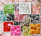 1K 1000 pcs Half Classic Pearl Multi Color Arts Craft Scrapbook Card Flat Back