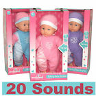 Baby Sophie Talking Doll With 20 Sounds - Cry, Laugh Etc Child Toy New