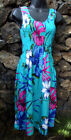 Hibiscus collection hawaii one size smocked, stretch, tube top dress