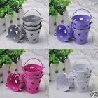 18PCS Mini Pail Bucket Candy Gift Box Wedding Party Favors Bady Shower 4 COLORS