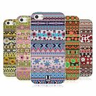 HEAD CASE FLORAL AZTEC TPU GEL BACK CASE COVER FOR APPLE iPHONE 5C