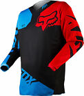 NEW 2015 FOX RACING 180 RACE MX DIRT BIKE OFFROAD JERSEY BLUE/ RED ALL SIZES