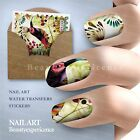 Fashion Paintings Nail Art Nail Decals Water Transfer Stickers Decoration-131