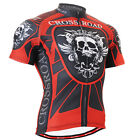 FIXGEAR CS_1302  mens Bike bicycle top Cycling skull Jersey clothing  S~3XL