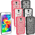 Hard Slim Case Cover Damask Floral Vintage Pattern for Samsung Galaxy S5 SM-G900