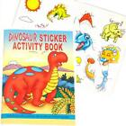Dinosaur Sticker, Activity, Puzzle & Colouring Books Great Party Bag Fillers!!